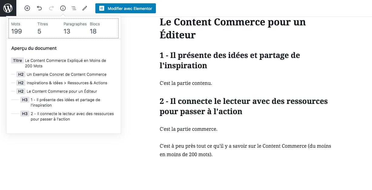 Une définition simple et courte du Content Commerce