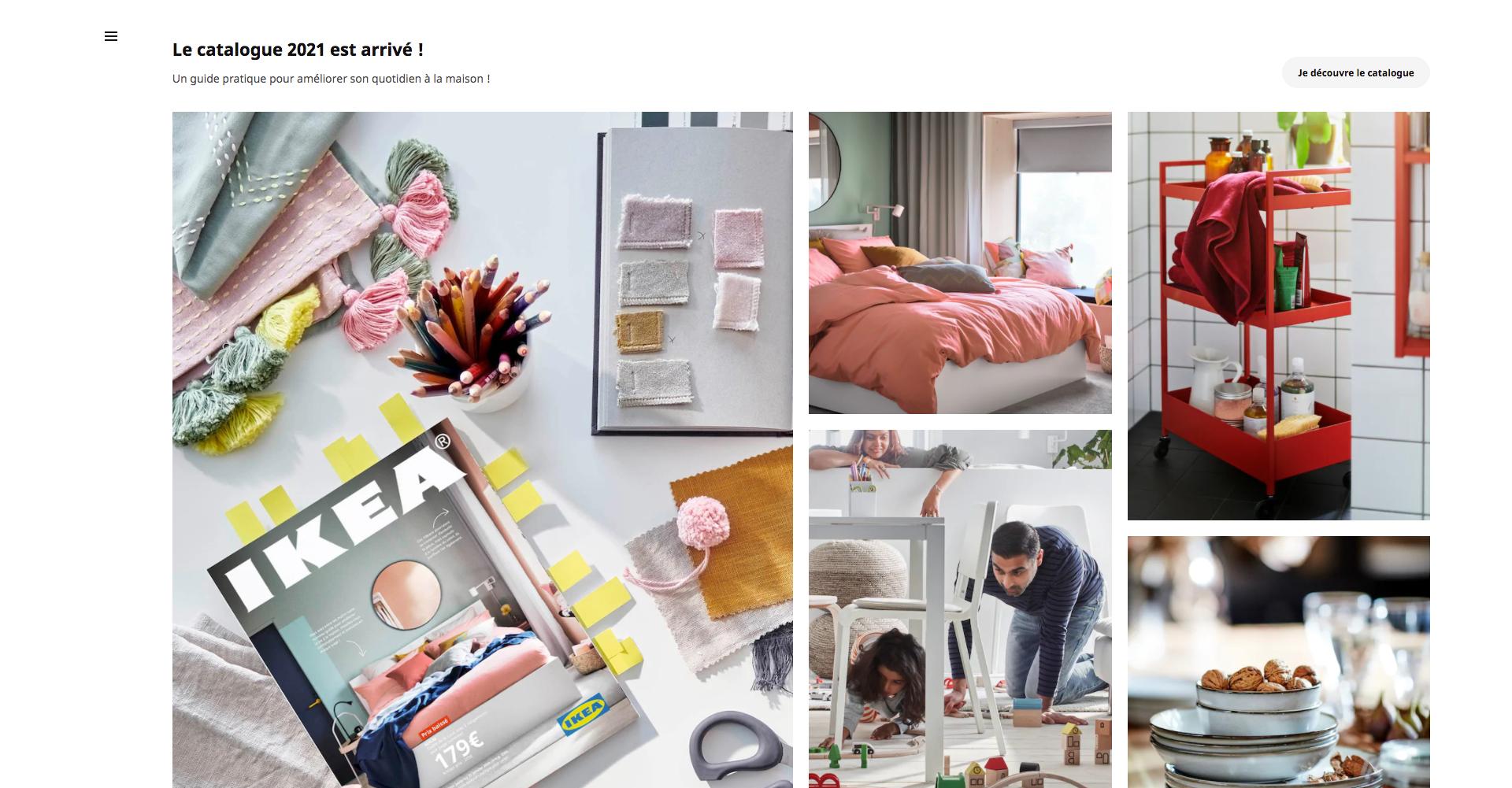"""Le catalogue IKEA est un """"guide pratique pour améliorer son quotidien à la maison"""""""