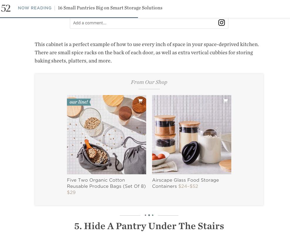 Le média en ligne food52.com monétise son contenu en insérant des recommandations de produits pertinentes dans ses articles